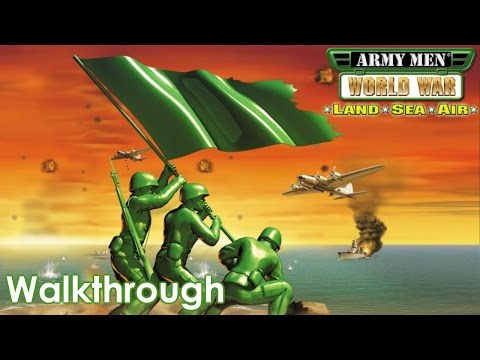 Army Men: World War - Land, Sea, Air Walkthrough