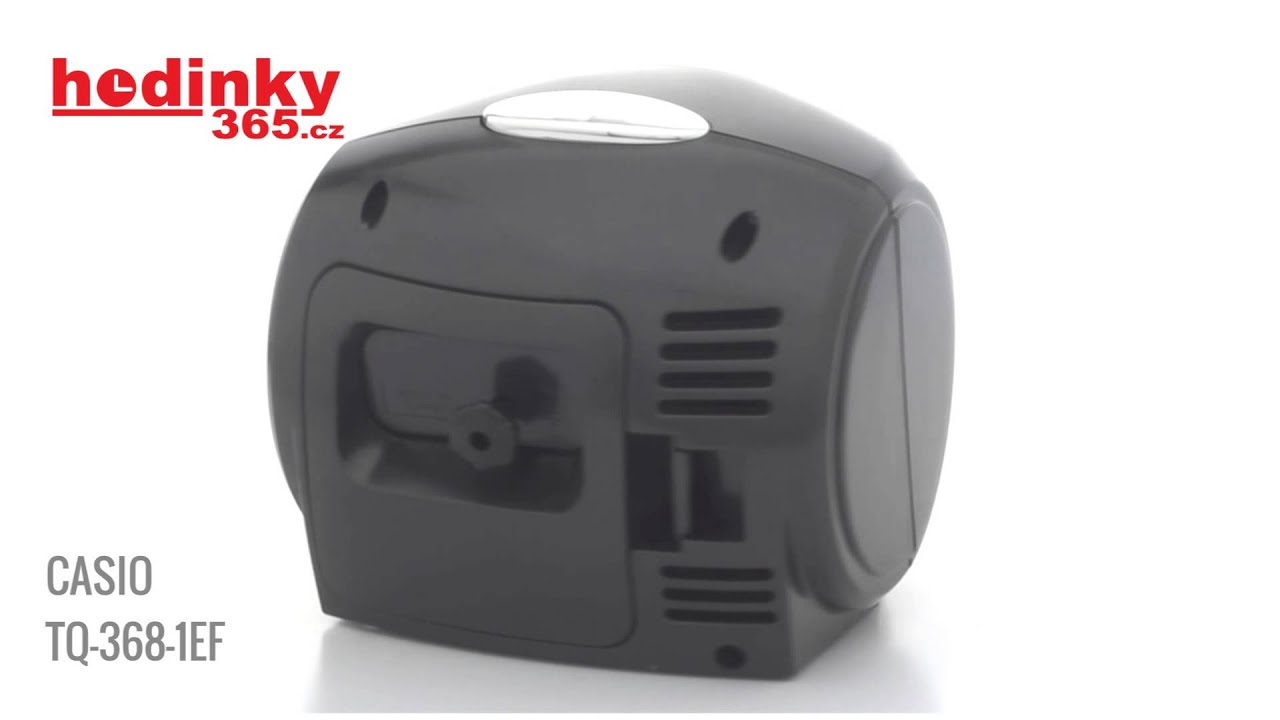26e1dc7a7c6 Casio TQ-368-1EF - YouTube