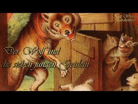 KHM 005: Der Wolf und die sieben jungen Geislein (Hörbuch deutsch) Märchen der Brüder Grimm