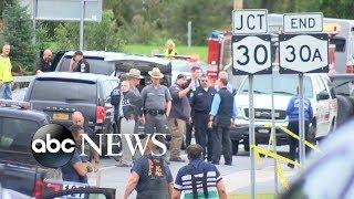 Limousine crash leaves 20 dead