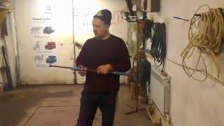 Самодельный обратный молоток для выпрямления вмятин на авто!(В этом видео я демонстрирую обратный молоток для выпрямления вмятин авто, например крыло, дверь... самодель..., 2015-12-03T17:54:53.000Z)