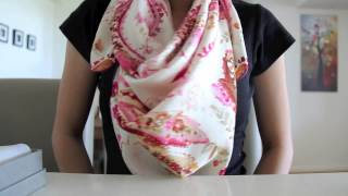 Unboxing: Silk Scarf