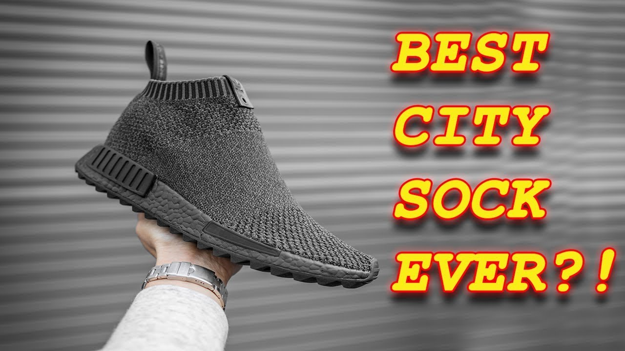 ABSOLUTE BEST NMD CITY SOCK COLLAB ! (TGWO CS1 ANKOKU TOSHI JITSU  ART OF  SEEING THROUGH DARKNESS) 383686dc1