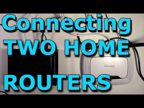 How To Connect Two Routers On One Home Network Using A Lan C