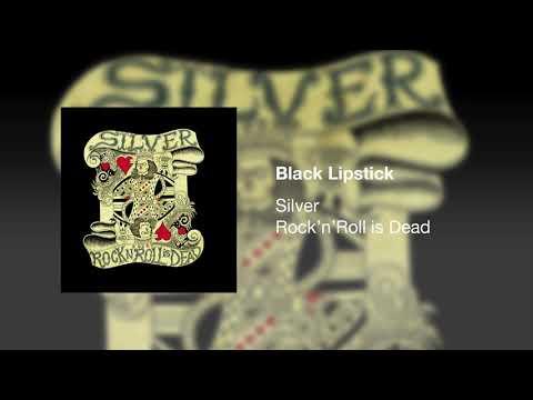 Silver - Black Lipstick
