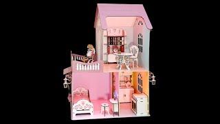 Домик для кукол ростом около 30см № 3 4