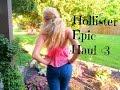 Hollister Haul | Epic Summer Sale | Mini Lookbook ♡