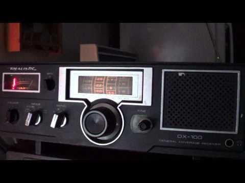 Realistic DX 100 on Radio Habana Cuba signal
