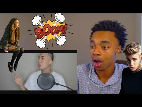 Flight Reacts To Justin Bieber and Selena Gomez Drama  Diss Track By Ricegum!