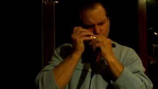 """Georgia On My Mind"" - jazz/blues chromatic harmonica"