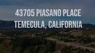 43705 Piasano Place Temecula, California