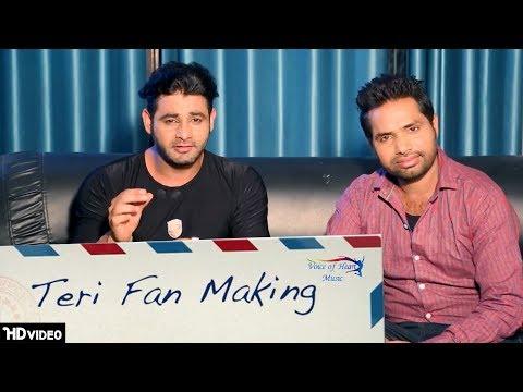 Making Of Teri Fan | Vijay Varma, Raju Punjabi, Sheenam Katholic | Upcoming Haryanvi Song 2017