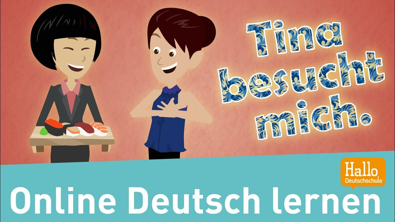 Wortschatz Küche Daz Learn German Online Tina Visits Me Vocabulary Apartment Lesson 15