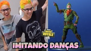 GEMEOS IMITATING THE DANCES OF FORTNITE IN REAL LIFE!