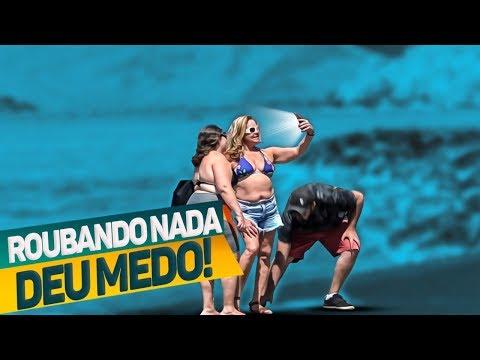 PEGADINHA - ROUBANDO NADA NO RIO DE JANEIRO #DESAFIO 33
