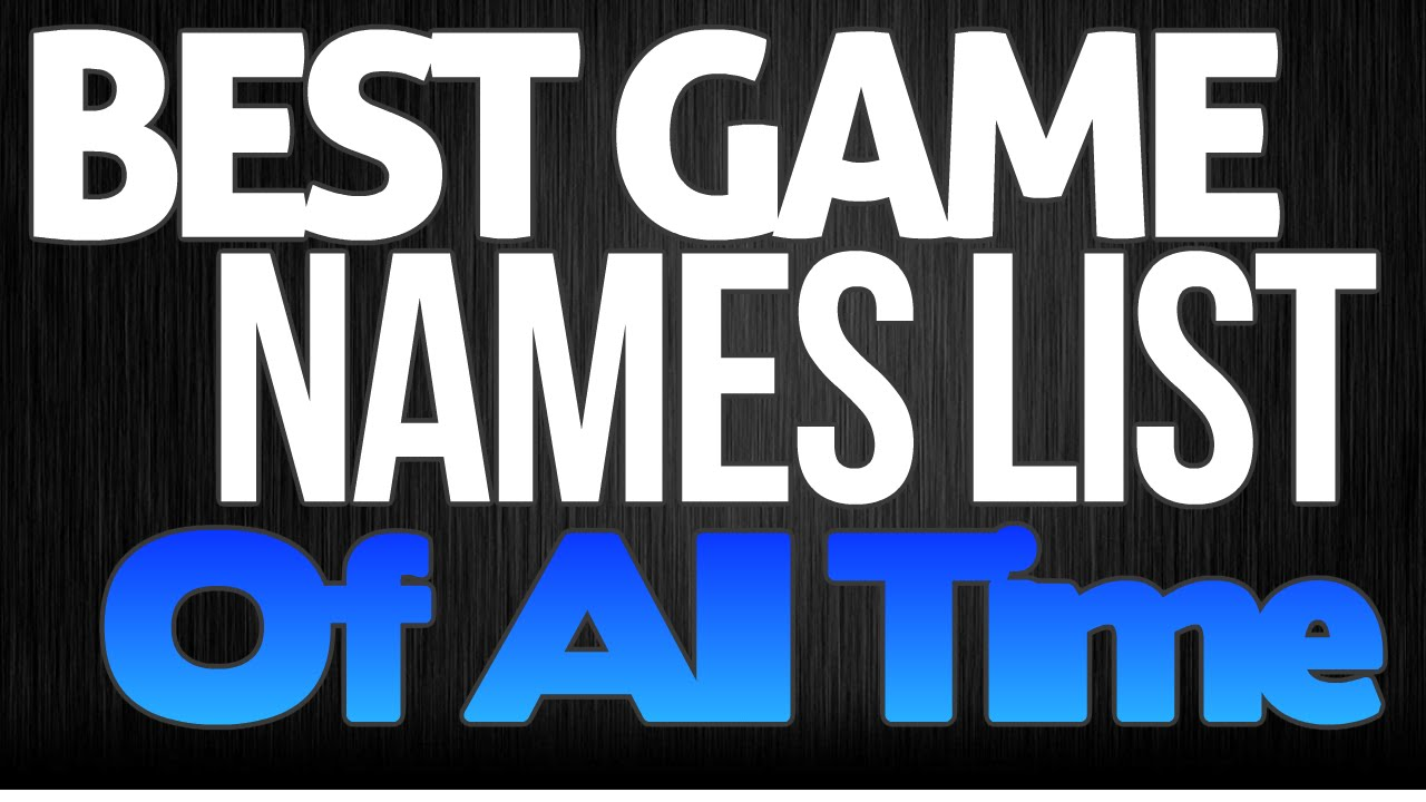 Nicknames list gaming best 900+ Gangster