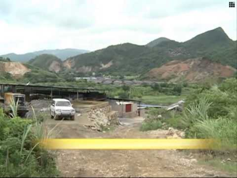 Mining company blamed for river pollution