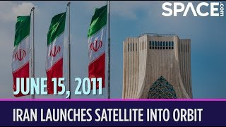 OTD in Space – June 15: Iran Launches Satellite Into Orbit