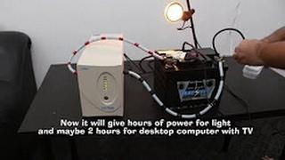 видео ИБП постоянного тока