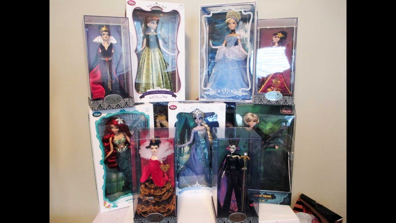 Limited Edition Disney Designer Dolls Collection Review ...