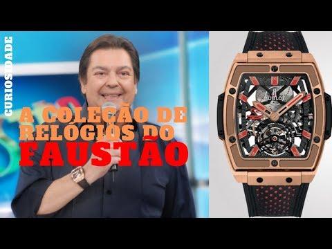 A Coleção de Relógios do Faustão - YouTube