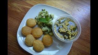 atta pani puri recipe hindi