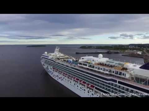 Cruise Ship Summer - Saint John New Brunswick Canada