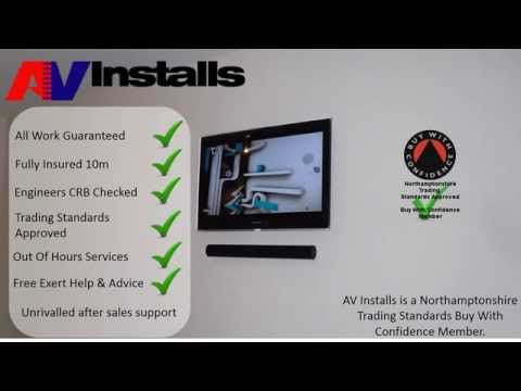 Home Cinema Hidden Cabling TV Installation Service UK