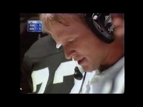 Oakland Raiders vs Dallas Cowboys 1998 (pt. 1) (Charles Woodson vs Michael Irvin)