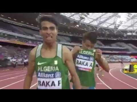 """الإخوة """"بقة"""" يهدون الجزائر الميدالية الذهبية والفضية في سباق الـ1500م"""