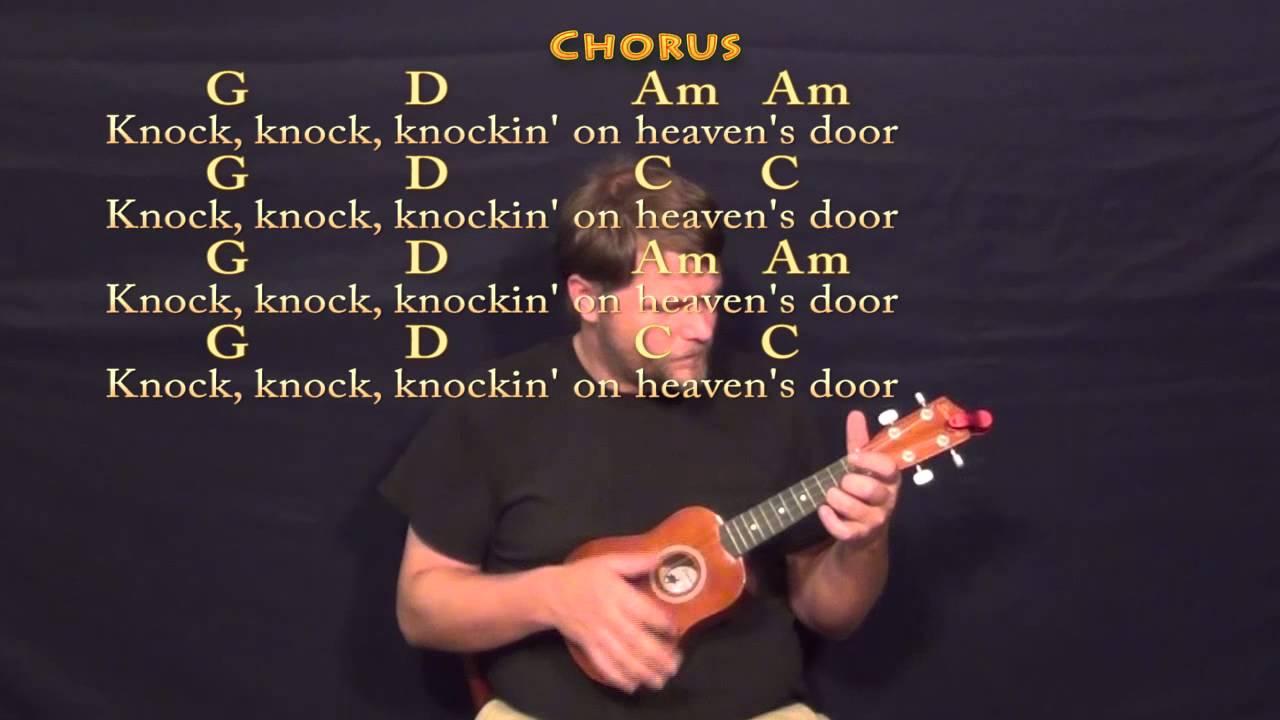 Knocking On Heavens Door Bob Dylan Soprano Ukulele Cover Lesson