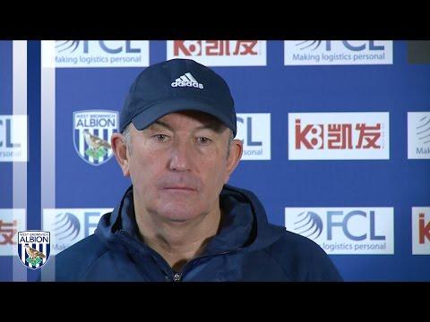 Albion Head Coach Tony Pulis previews Premier League trip to Spurs