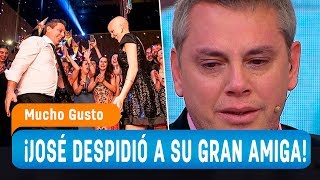 José Miguel Viñuela despide a su entrañable amiga Javiera Suárez en Mucho Gusto - Mucho Gusto 2019