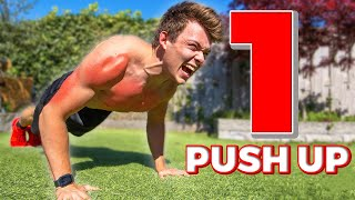The Impossible Push up (Can You Do ONE Rep?)