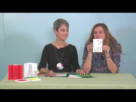 VIDEO Il Biglietto di Natale in KIRIGAMI con Elisa by Fatto Con Gioia