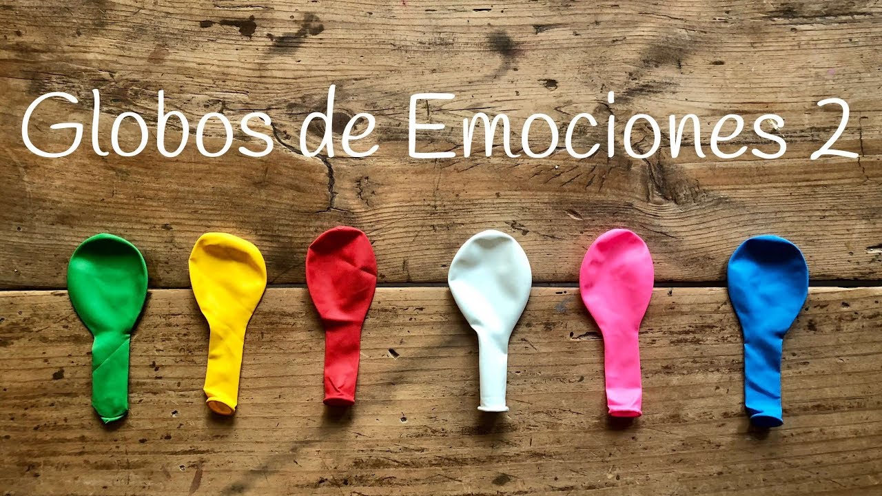 Globos De Las Emociones 2 Seis Nuevos Estados Juego Educativo Para Niños
