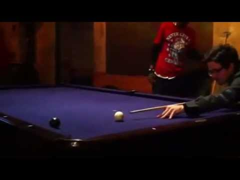 EIGHT BALL: JIMI TAKES THE 8 ON A REVERSE BANK SHOT