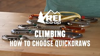 How to Choose Quickdraws || REI