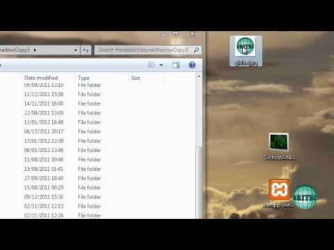 Mount Windows System Restore Points To Browse And Extract Files by Britec