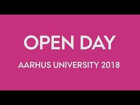 Open Day at Aarhus University 2018