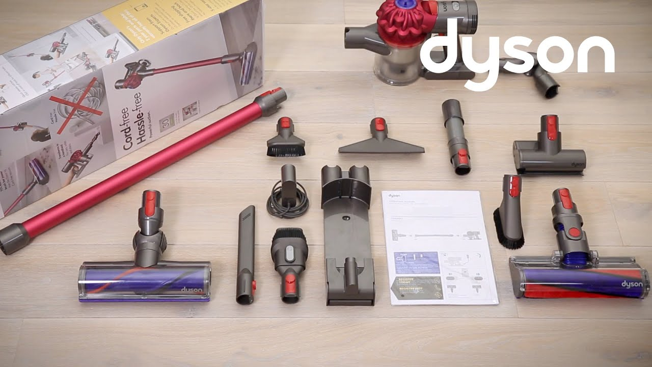 Dyson V7 Cord Free Vacuums Getting Started Uk Youtube