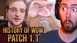 Asmongold Reacts To The Complete History Of Wow Patch 1.1 - Bellular