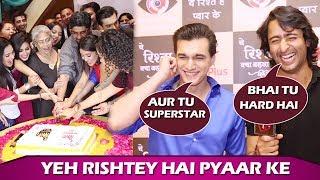 Yeh Rishtey Hain Pyaar Ke Screening: Mohsin Khan & Shaheer Sheikh Compliment Each Other Character