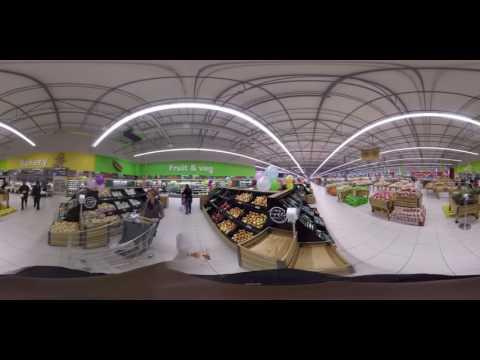 Boksburg Hypermarket - 360 tour - Fruit & Veg