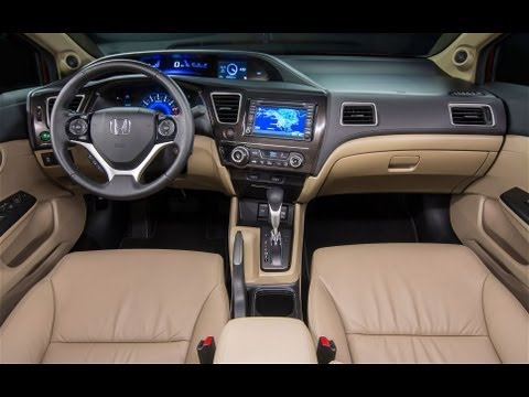 2013 Honda Civic - Radio, Audio, SMS Text message set up with Navigation Demo & Review