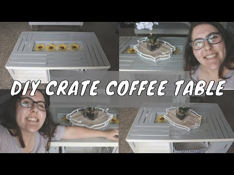 DIY Coffee Table OUT OF WOODEN CRATES | Not Leia