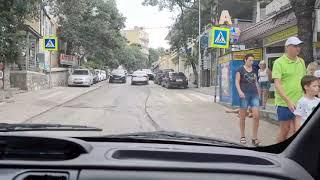 Крым Сейчас. Ситуация на Дорогах. Отель Пальмира Палас