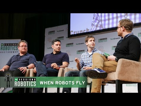 When Robots Fly with Buddy Michini (Airware), Andreas Raptopoulos (Matternet) and Jan Stumpf (Intel)