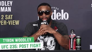 UFC 235 Post-Fight Press Conference: Tyron Woodley