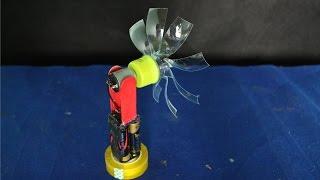 Як зробити міні електричний вентилятор | саморобні іграшки